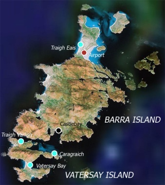 Image result for map of barra