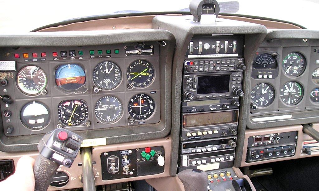 G BPAS cockpit