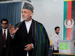 Hamid-Karzai-after-voting-001