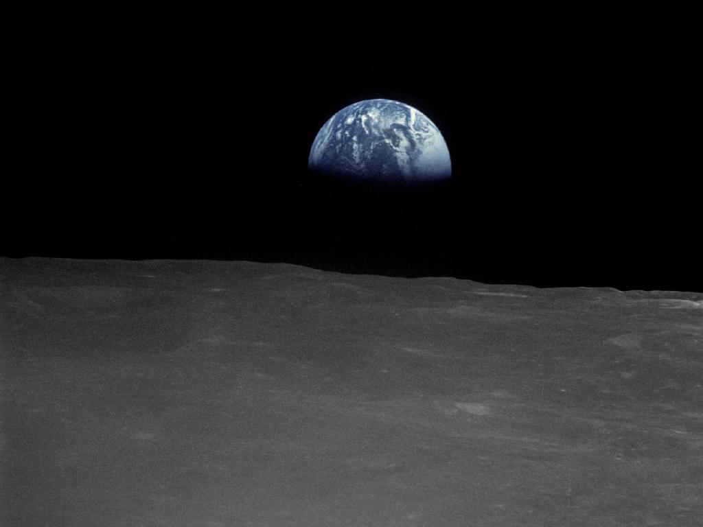 earthrise from moon apollo - photo #17