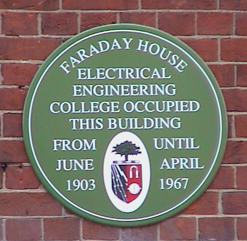 faradayhouseplaque