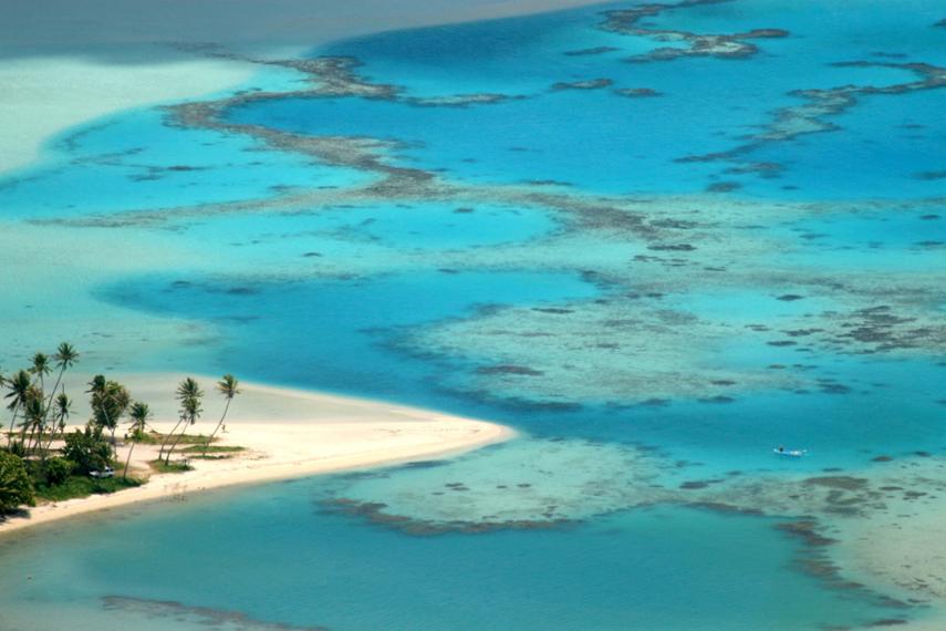 Tereia Beach, Maupiti, Leeward Islands