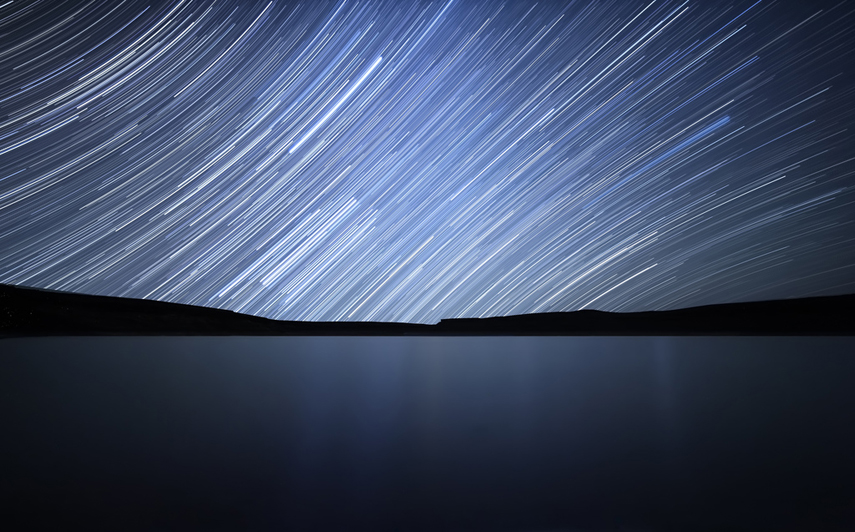 Star Trails, Rio Negro, Argentina