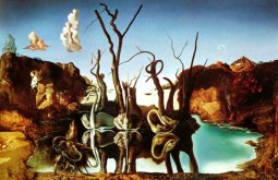 Swans Reflecting Elephants — Salvador Dali