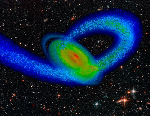 ESA astronomers say that for every ten far galaxies observed, a hundred go undetected.