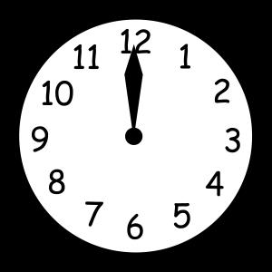 wall_clock_twelve