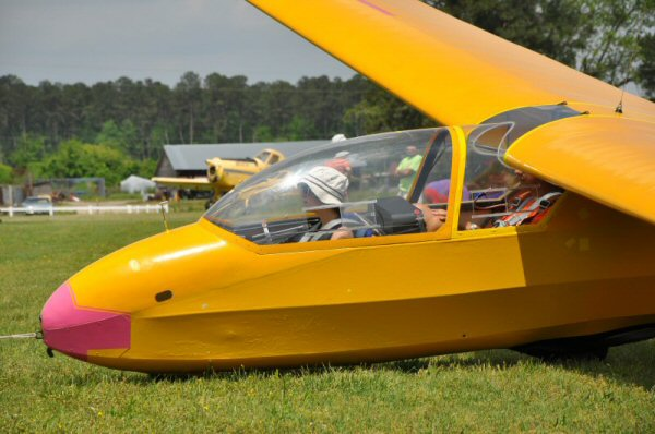 A K-7 typical of the glider I first flew in at Rattlesden GC.