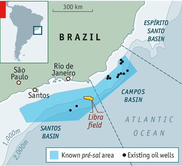 Libra oil field