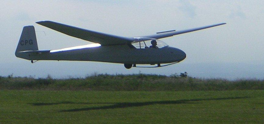 'K7' glider.