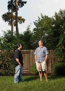 Jerry Dewitt (Left), A former Pentecostal minister, DeWitt now leads the secular Community Mission Chapel in Lake Charles, La. Mike Aus (Right), In September 2012, Aus began Houston Oasis, an atheist service that is considered a model for nonbelievers nationwide.