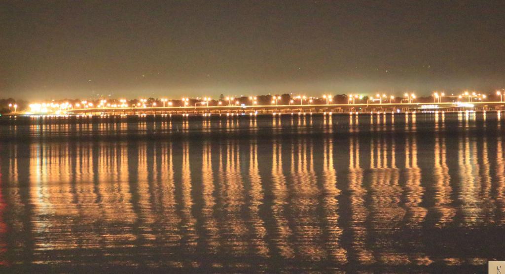 The Ted Smout Memorial Bridge.