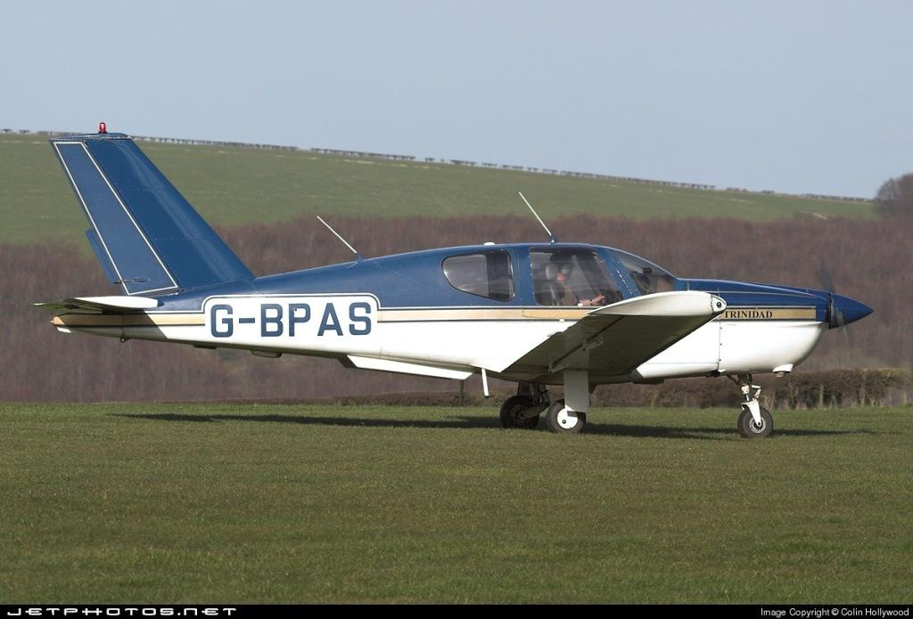 TB20, G-BPAS, photographed at Compton Abbas airfield (EGHA).