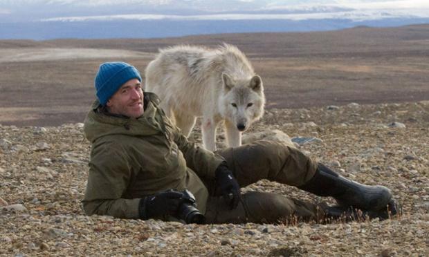 Gordon Buchanan and White wolf.