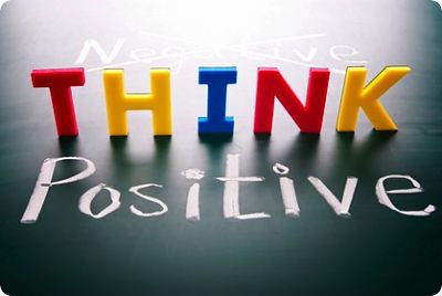 think +ve