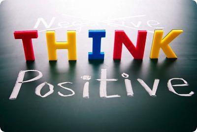 think +ve