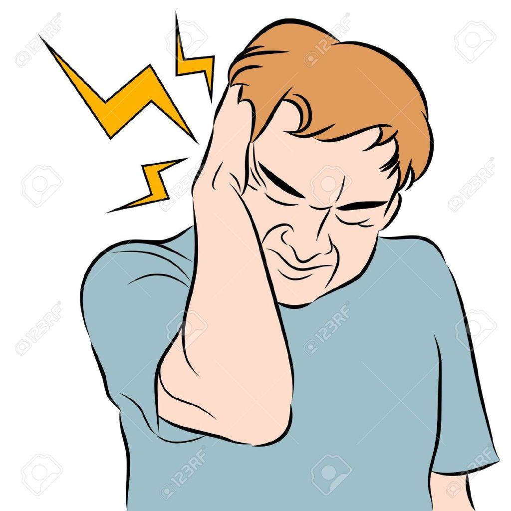 12963392-An-image-of-a-man-with-a-headache--Stock-Vector-headache-earache-cartoon