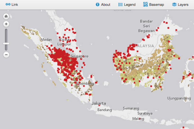 indonesia-fire-map