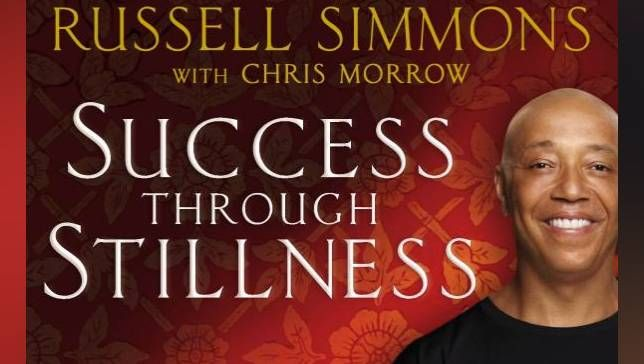 "Book cover of ""Success Through Stillness"""