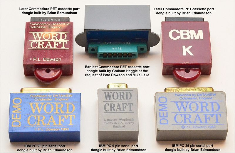 The Wordcraft dongle.
