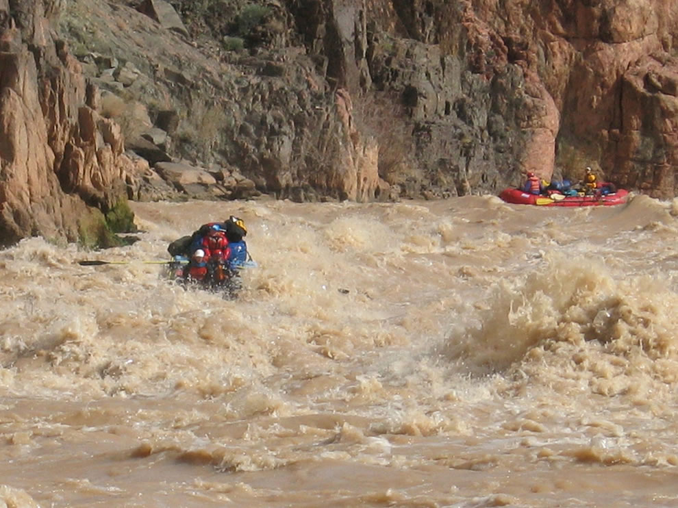 Muddy Water Rafting