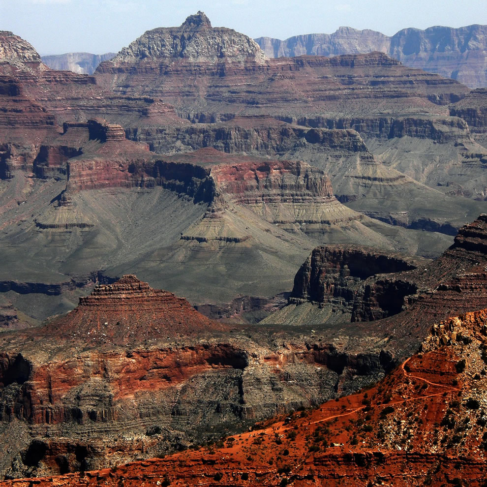 Grand Canyon Colors varies with the position of the Earth relative to the Sun.