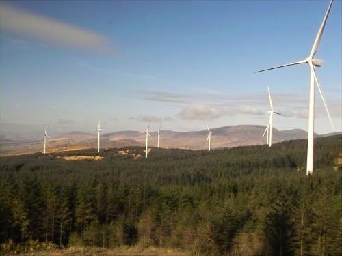 Wind farm in Ireland. Source: http://www.iwea.com/_wind_information