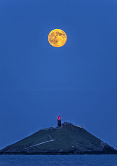 A 2013 supermoon as seen from Ireland. John Finn, CC BY-NC-ND