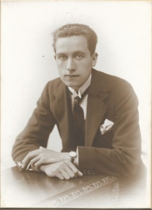 My father's 21st birthday- June 15th, 1922