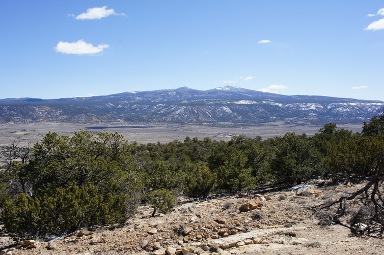 Mount Taylor in New Mexico, a sacred site to the Zuni who believe it is a living being. Chip Colwell, Author provided.