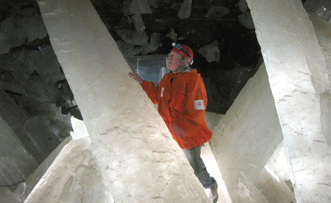 The caves were discovered by miners 100 years ago