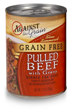 against-the-grain-pulled-beef-dog-food