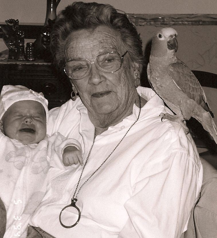 Oh, hi Aunt Rosie. I know you've passed on, but I'll bet you can still hear that screaming baby wherever you are.