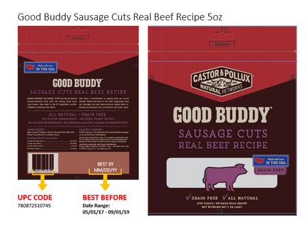 Good Buddy Dog Treats Recall